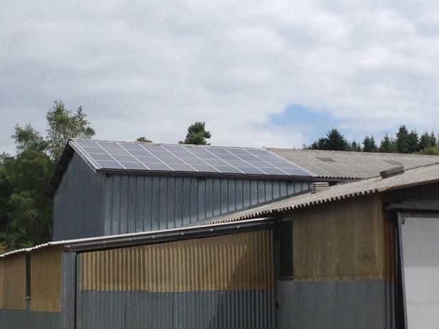 bâtiment photovoltaïque agricole