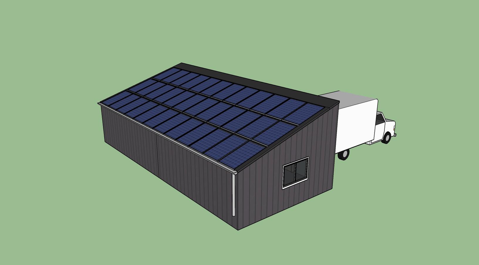 garage photovoltaique