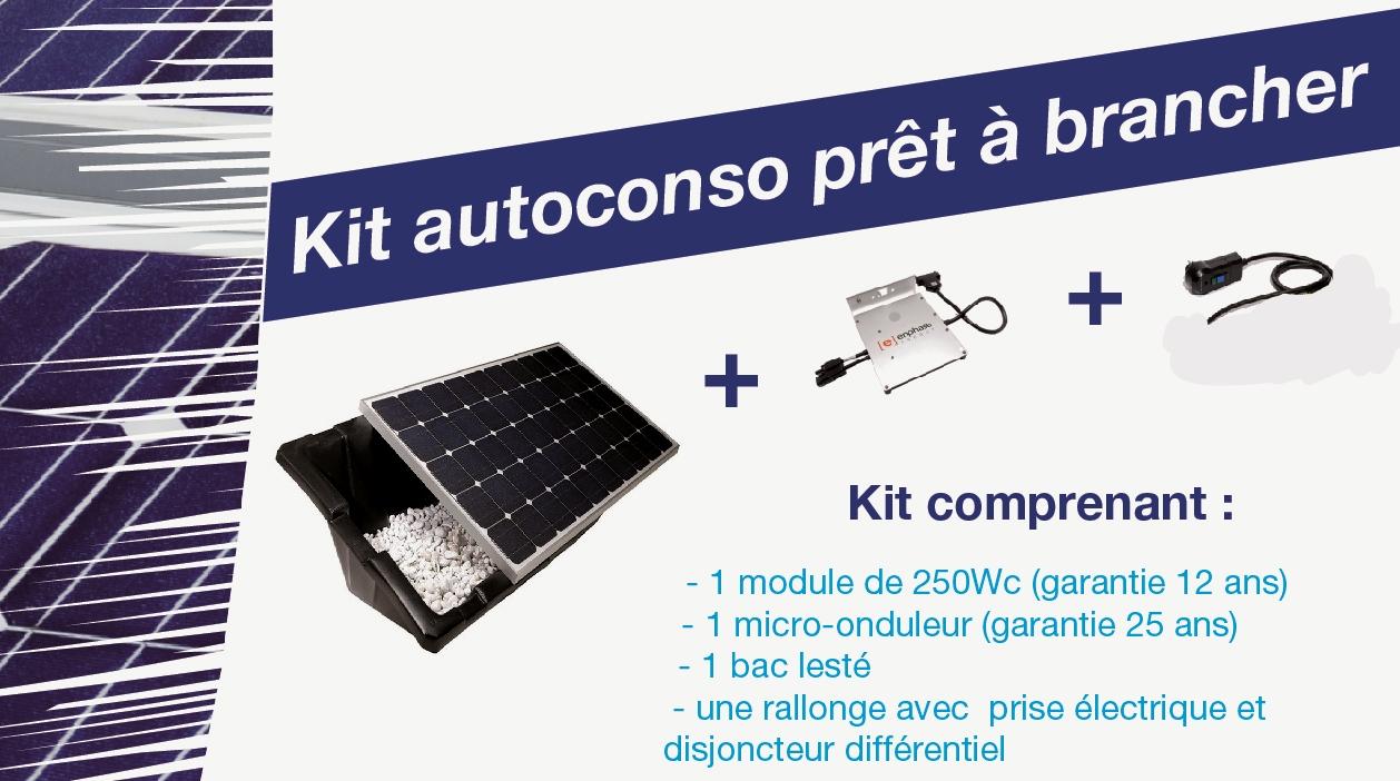 kit à brancher photovoltaïque
