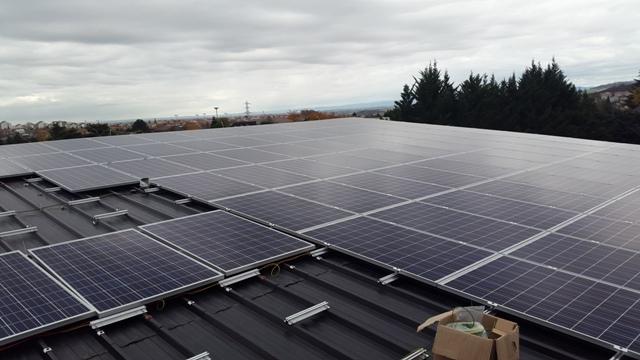 36kWc photovoltaïque Auvergne