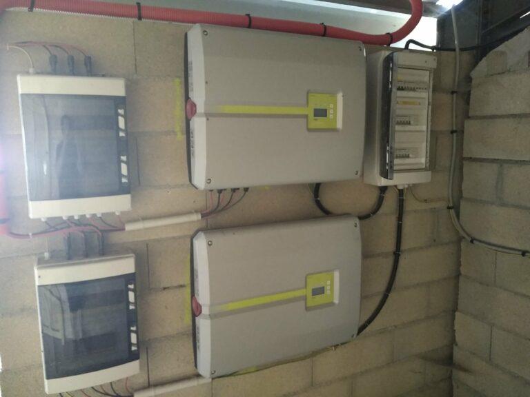 OHE - compteur d'Installation de panneaux solaire pour une vente totale d'électricité