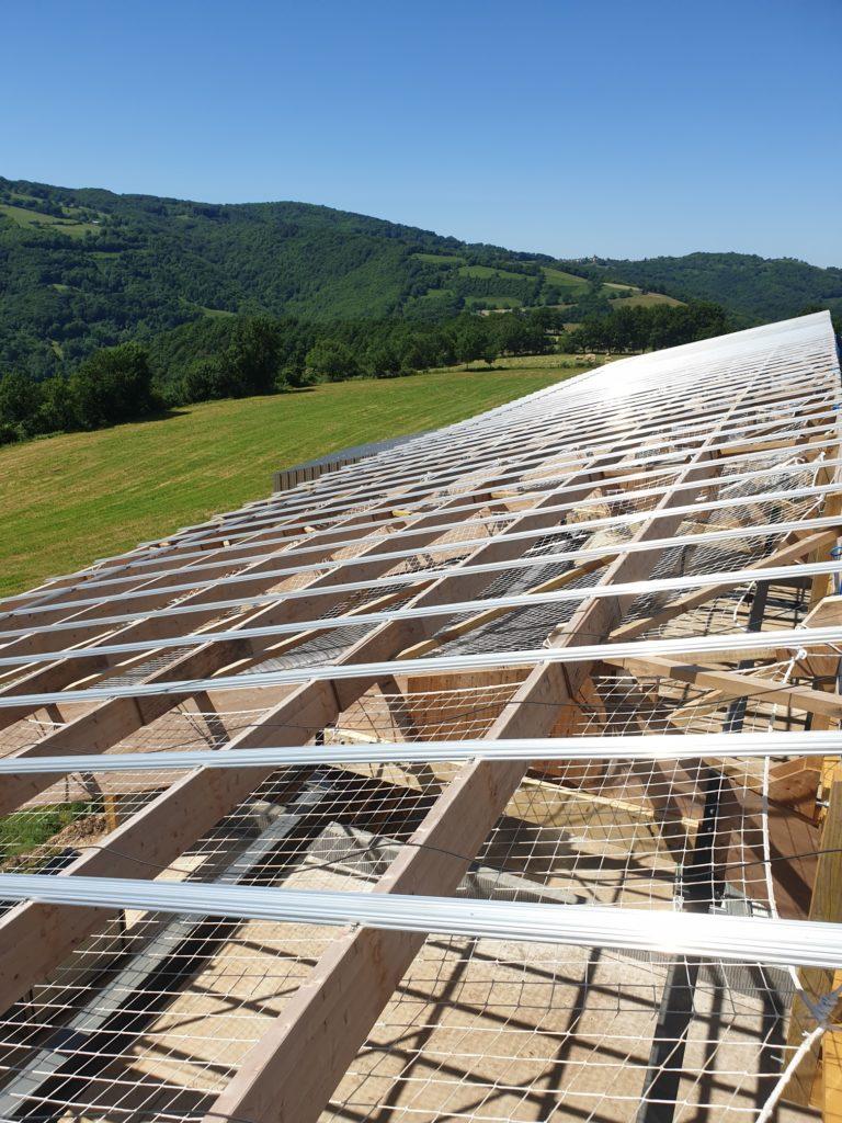 OHE - séchage en grange photovoltaique