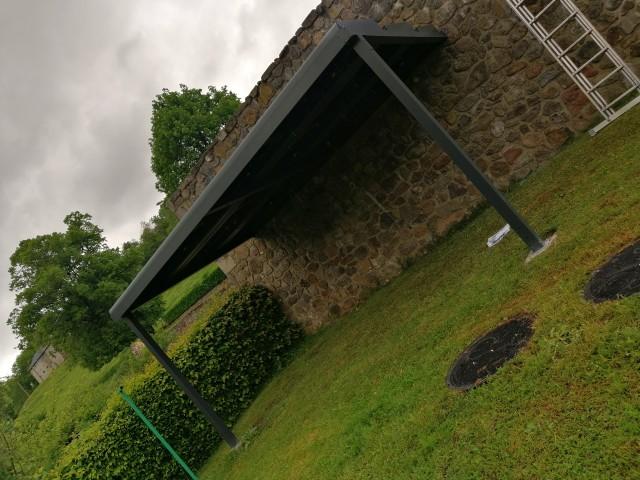 OHE - pergola photovoltaique Auvergne Puy de Dôme
