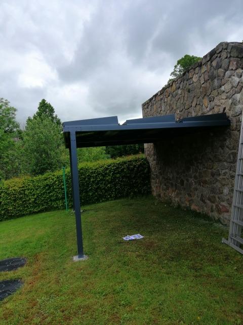 OHE - carport photovoltaique Auvergne Puy de Dôme